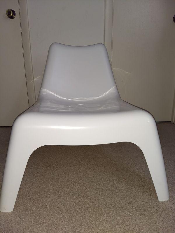 White Plastic Chair Ikea Ps Vago