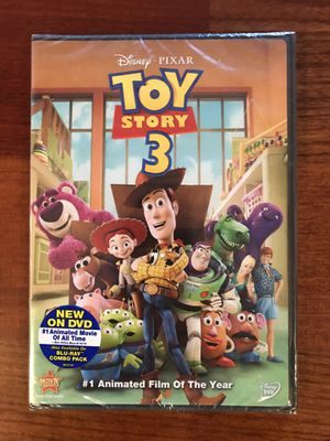 NEW Disney Pixar Toy Story 3 DVD for Sale in Marysville, WA