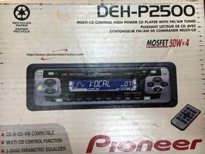 Pioneer car stereo for Sale in Alexandria, VA