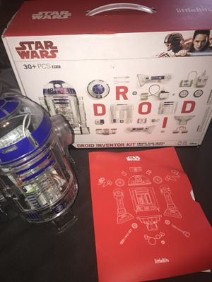 Little Bits Star Wars Droid computer coding toy robot R2D2 Kids science inventor kit STEM VIDEO GAME for Sale in Bohemia, NY