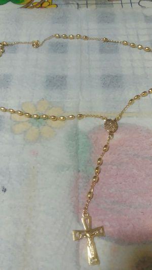 rosario oro brasileño for Sale in Manassas, VA
