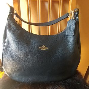 Photo COACH LEATHER PURSE HANDBAG