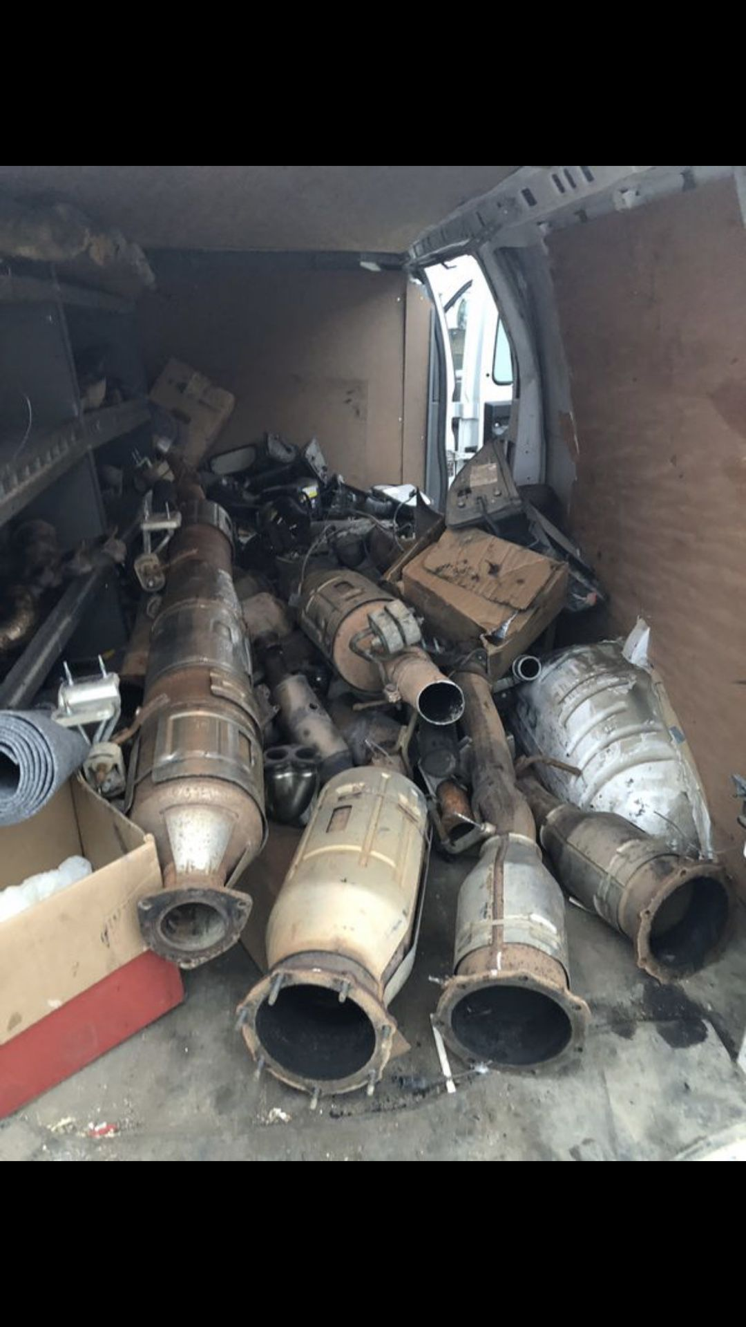 Photo Buying unwanted catalytic converters and DPFs. Paying top cash $$$. Will be in North Dakota all around. Let me know what you have