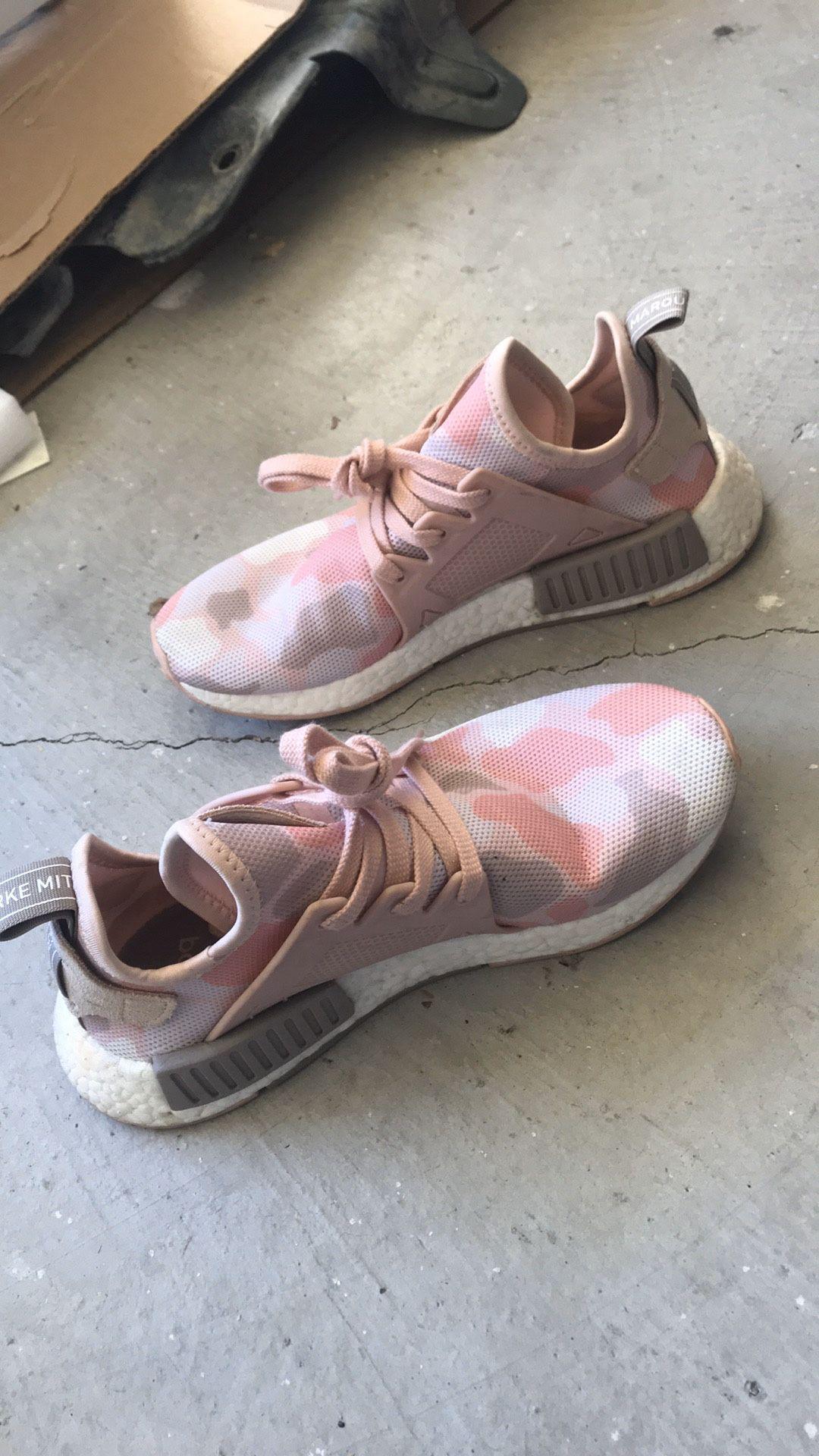 RARE Adidas NMD RX1 Pink Duck Camo