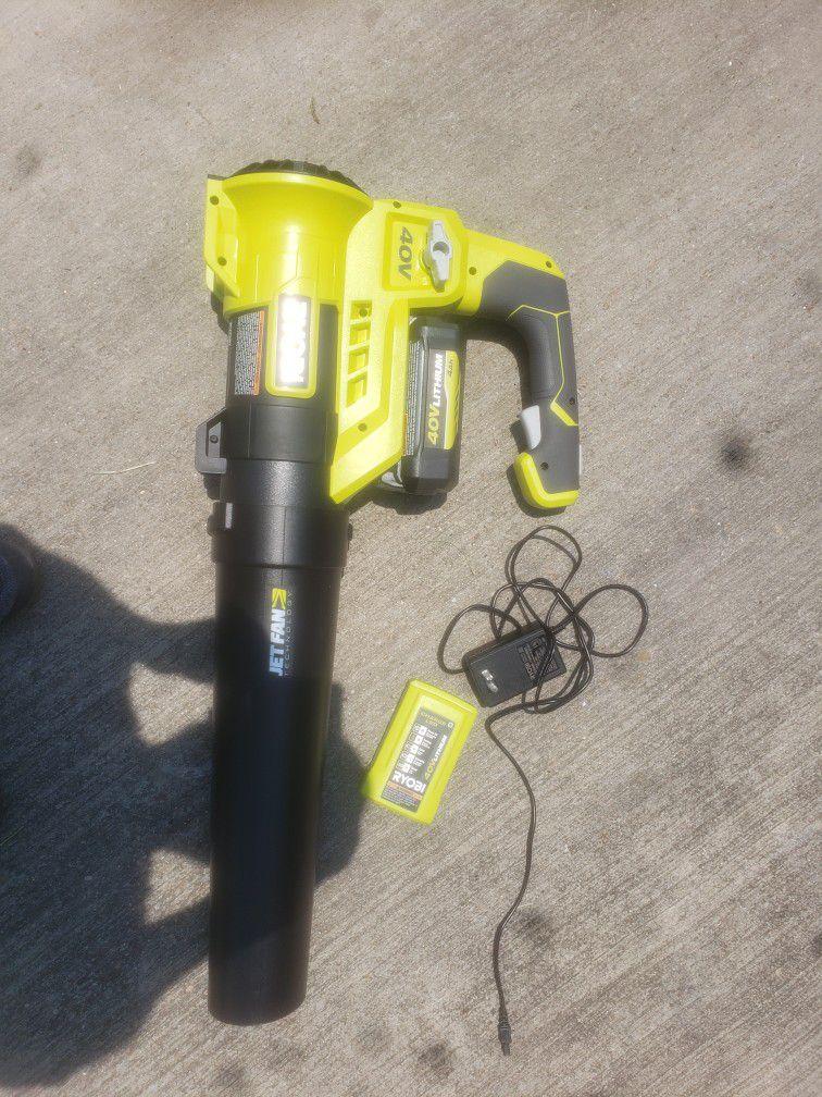 Ryobi 40v Brushless Blower