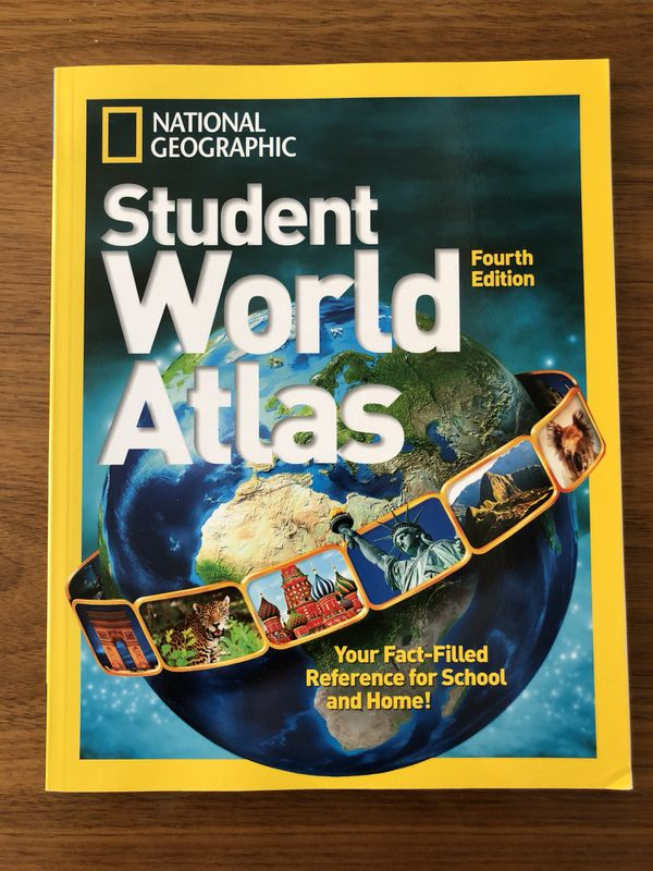 National Geographic Student World Atlas 9781426317750 for Sale in  Huntington Beach, CA - OfferUp