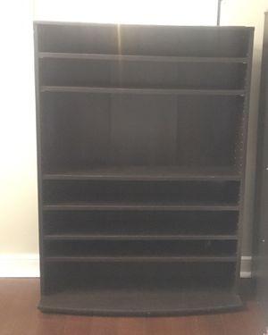 Cabinet, 6 adjustable shelves, brown/espresso color for Sale in Washington, DC