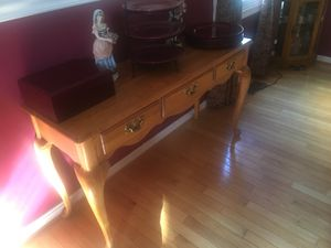 Table console and bakers rack for Sale in Gaithersburg, MD