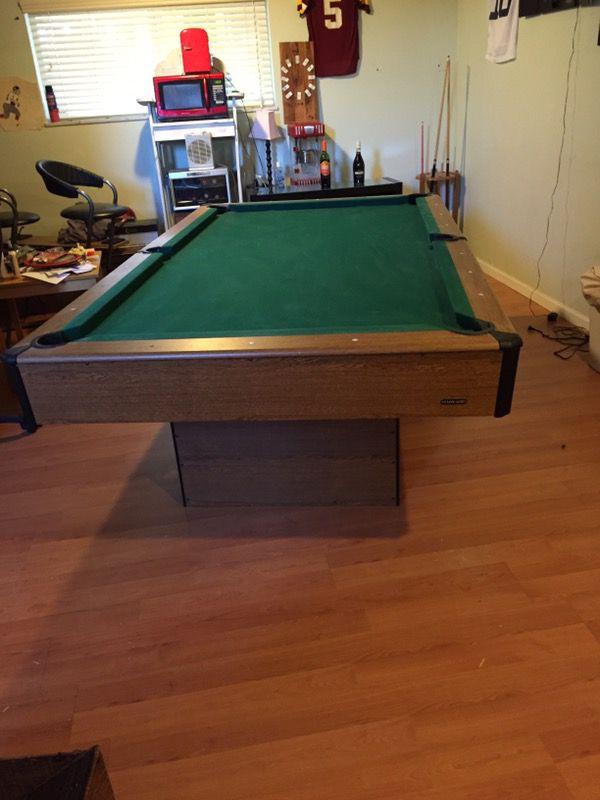 Ft Harvard Slate Pool Table For Sale In Columbus OH OfferUp - Pool table scorekeeper