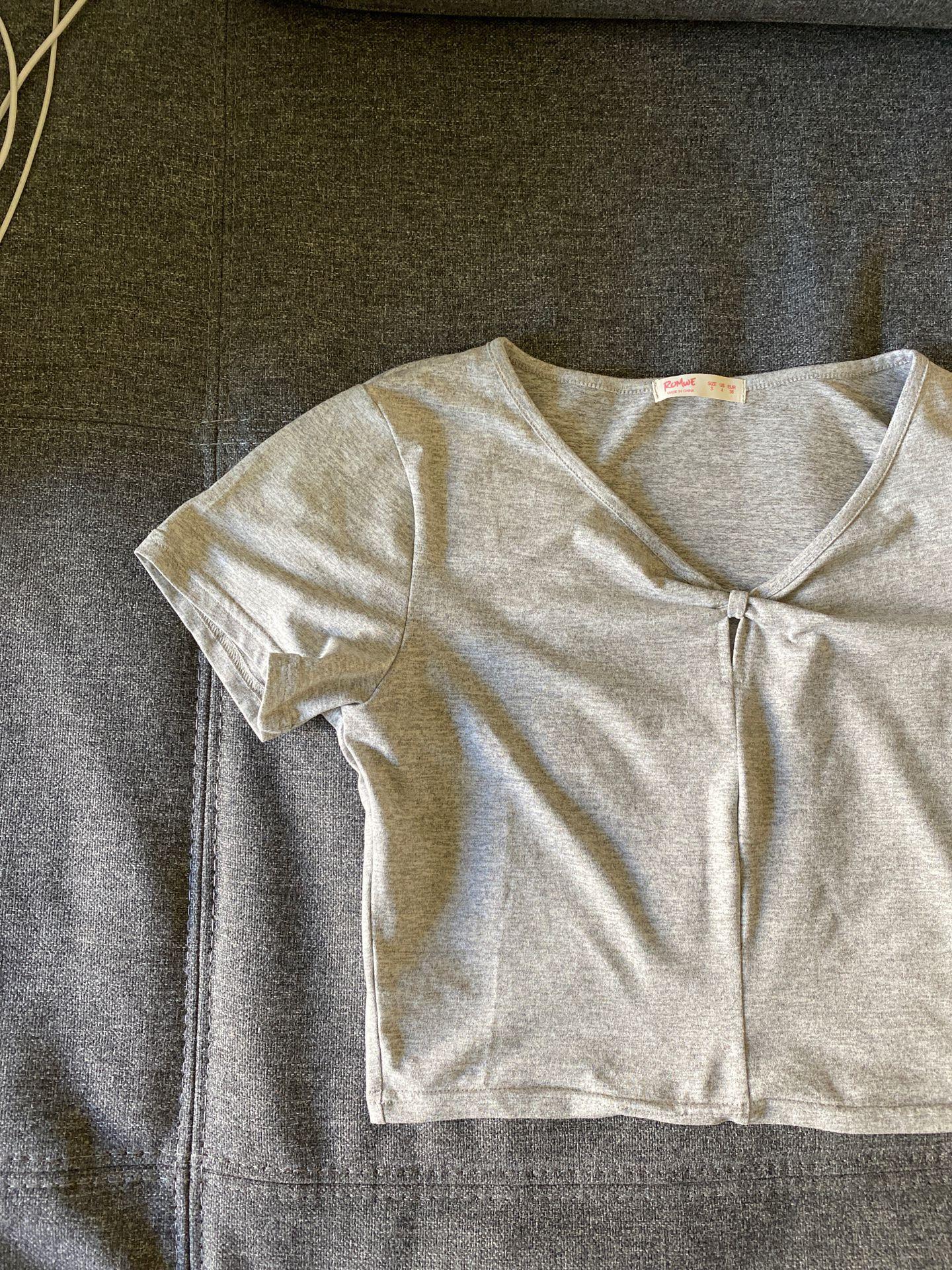 Small grey shirt
