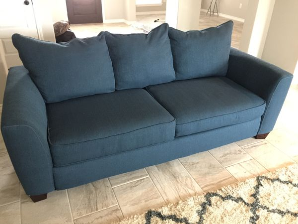 Sensational Bonita Springs Blue Sofa Sleeper And Love Seat For Sale In Andrewgaddart Wooden Chair Designs For Living Room Andrewgaddartcom