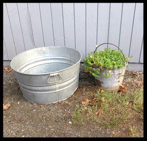 Galvanized Basin for Sale in Kirkland, WA