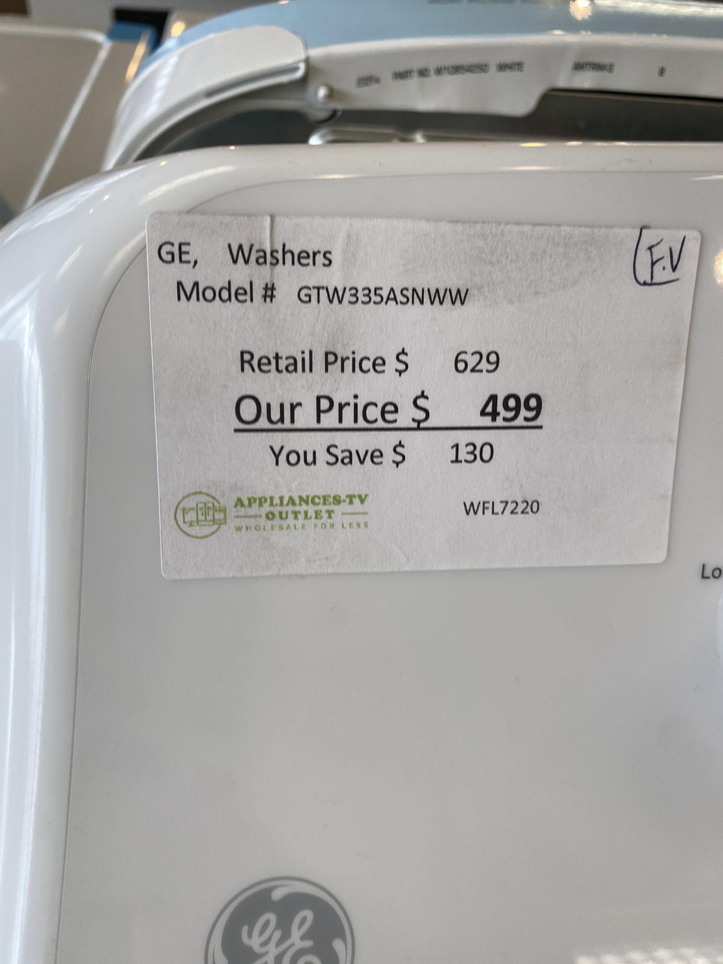 GE Gas Dryer & Washer Set