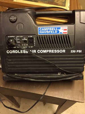 Portable air compressor, used for sale  Lowell, AR