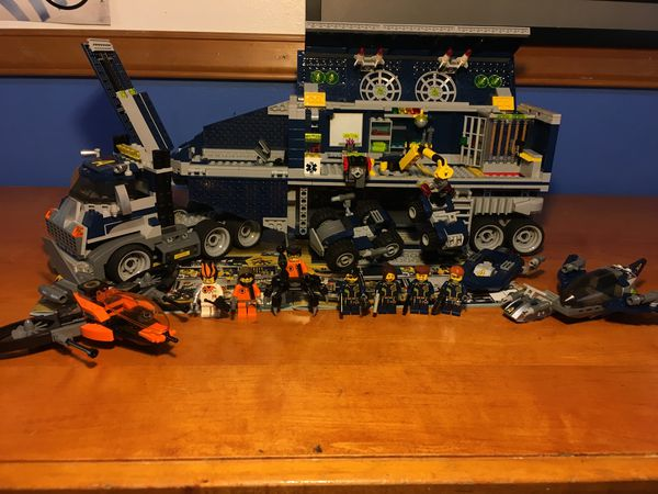 Lego Agents Mobile Command Center For Sale In Edmonds Wa Offerup
