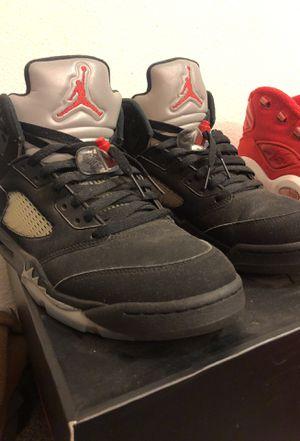 Air Jordan metallic 5's Sz 10 for Sale in Stockton, CA