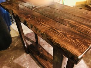 Side/couch/console table (live edge look) for Sale in Silver Spring, MD
