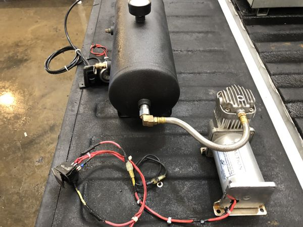 Air Train Horn Or Bag Compressor Tank Setup Fort Worth