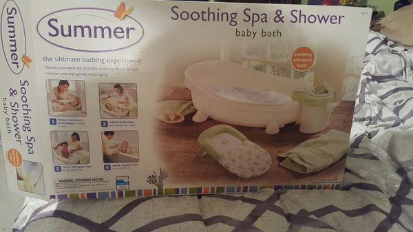 Summer infant soothing spa and shower for Sale in Avonmore, PA - OfferUp