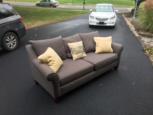 Stupendous New And Used Grey Couch For Sale In Wilmington De Offerup Machost Co Dining Chair Design Ideas Machostcouk