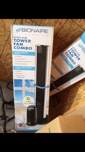 NEW Bionaire tower fan combo STAY COOL for Sale in Portland, OR