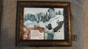 Signed Berra and DiMaggio with COA for Sale in Clarksburg, MD