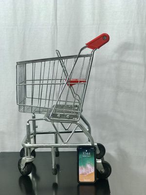 Kids steal toy shopping cart! Very sturdy and great for kids to shop too! for Sale in Elkridge, MD