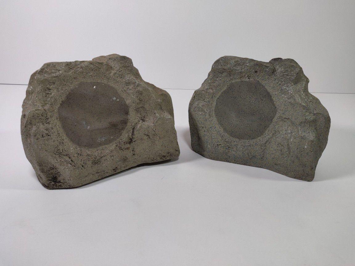 Insignia Outdoor Rock Speakers