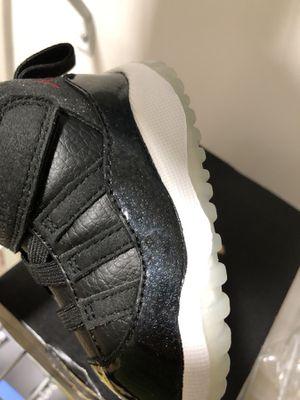 Jordan 11 retro size 4c little kids sneakers for Sale in Boston, MA