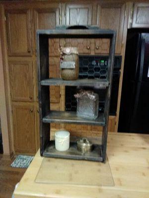 3 shelf unit made from old desk drawer for Sale in Rustburg, VA