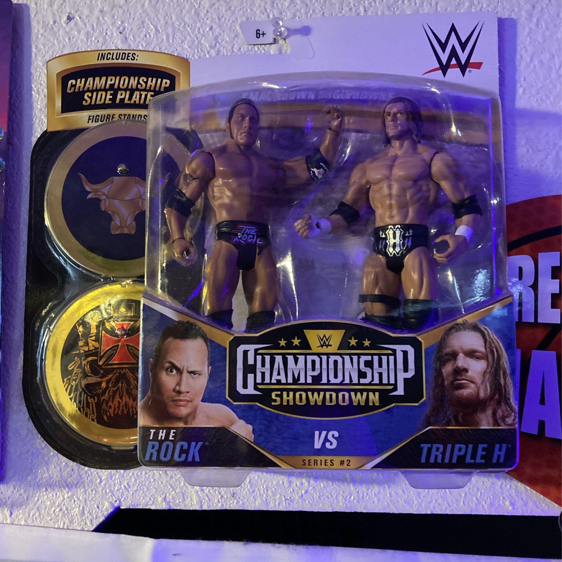 WWE CHAMPIONSHIP SHOWDOWN ACTION FIGURES