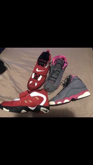 Jordan and Nike shoes 6 1/2 boys in great condition $50 for both for Sale in Washington, DC