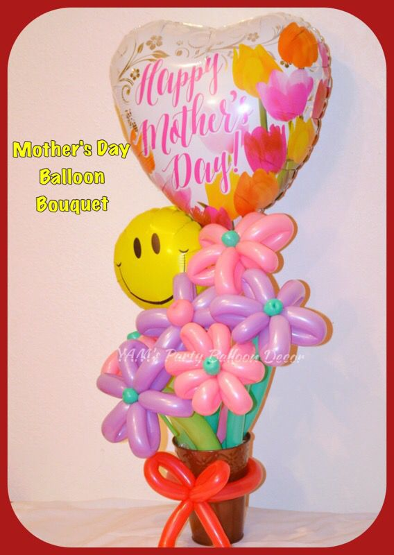 Mothers Day Balloon Bouquet San Jose