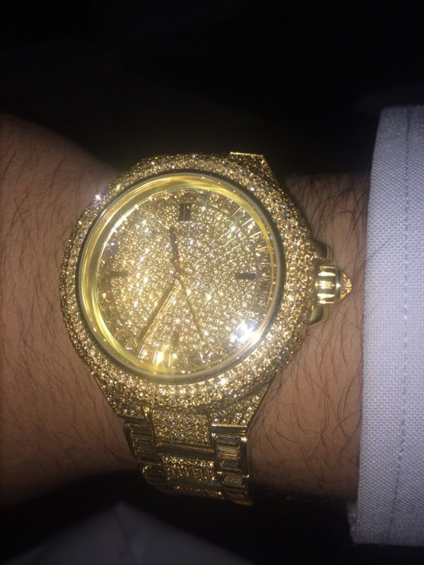 f255b7872a41 Michael Kors Iced Out Watch for Sale in Dallas