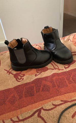 Toddlers leather dress boots for Sale in Silver Spring, MD