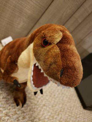 Photo T-Rex Dinosaur 15 Soft Toy , Wild Republic With Tag.