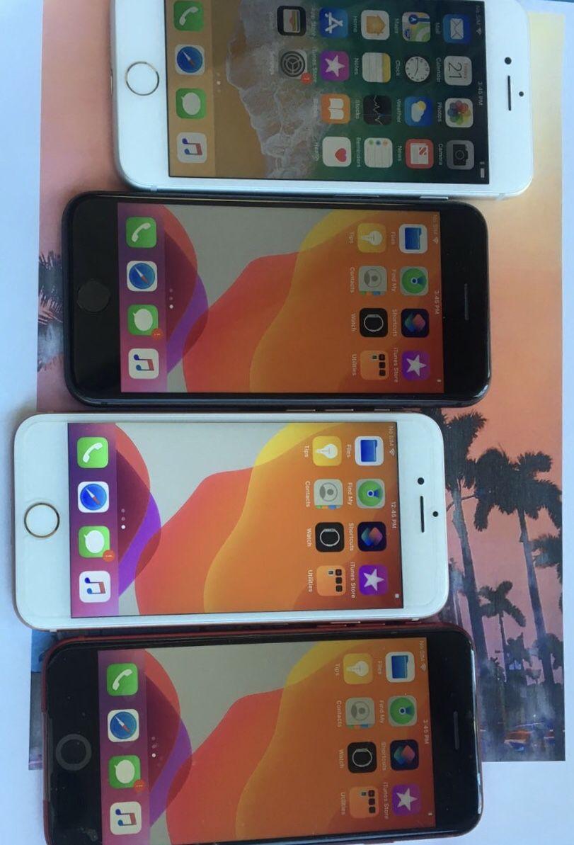 IPhone 7plus(32gb)unlocked Each