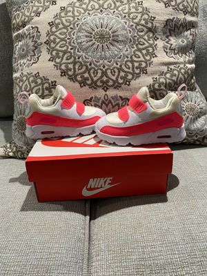 Photo Baby Nike Air Max 90 Pink and White Size 5c