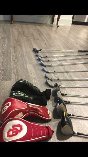 Wilson golf clubs & bag for Sale in Dallas, TX