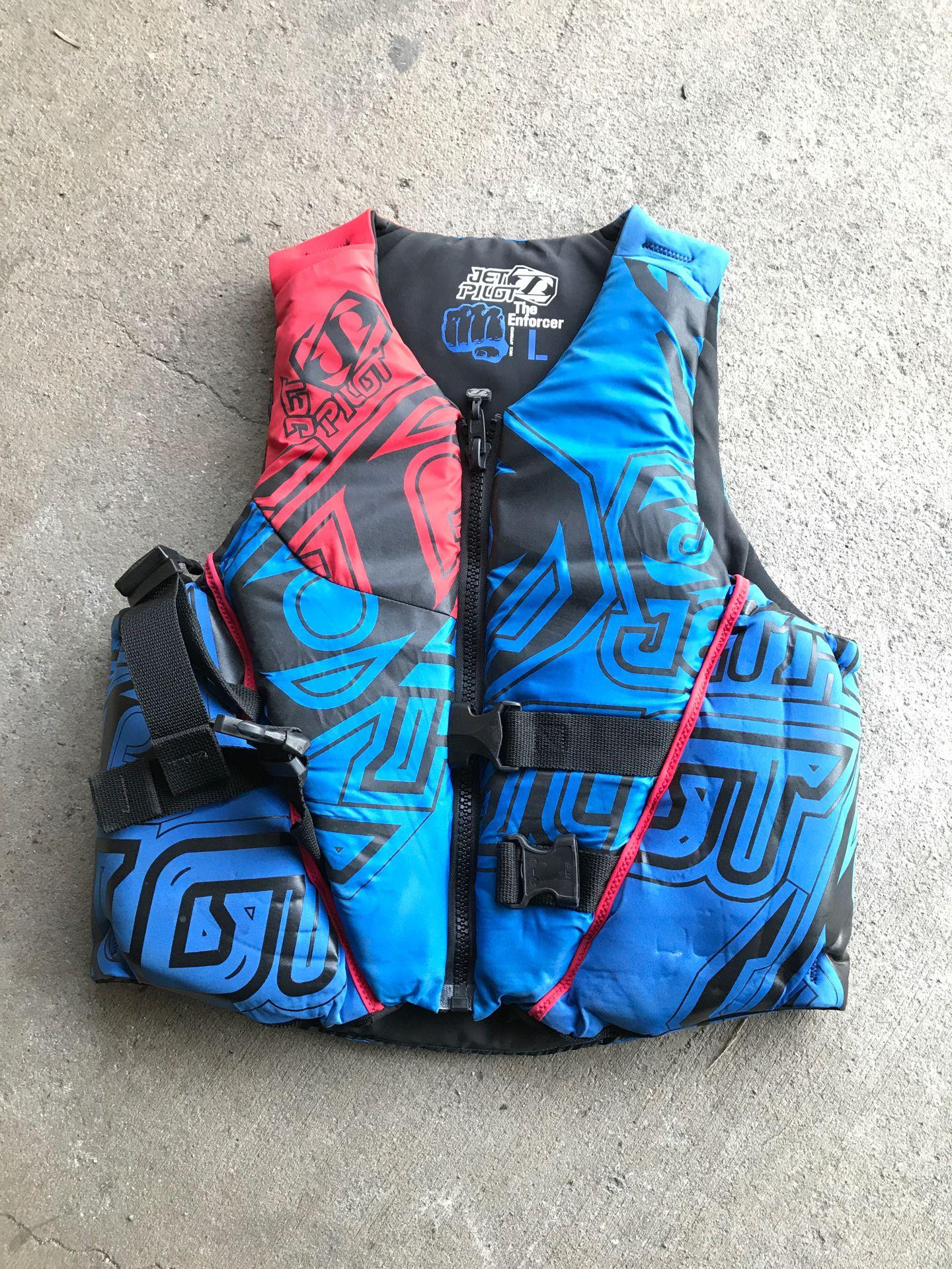Men's life vest large