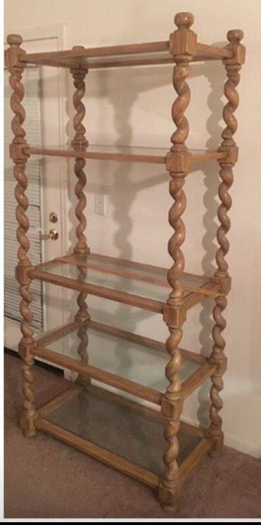 Pickle Wood Etagere Furniture