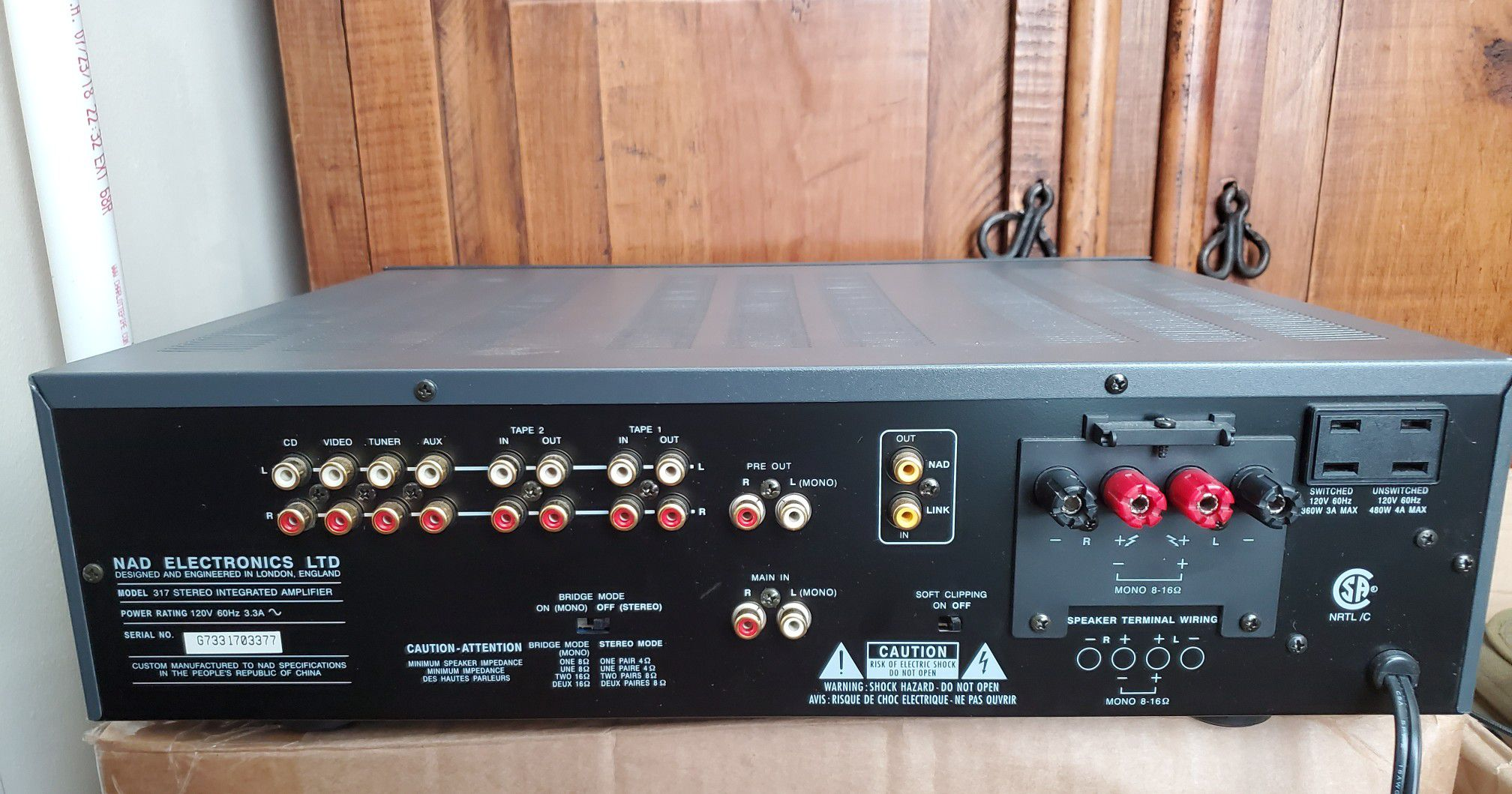 Nad 317 Solid State Intergrated Amplifier