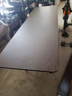 Solid Wood Banquet Table Thumbnail