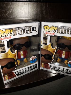 "NYCC ""BIGGIE SMALLS"" FUNKY POP for Sale in Springfield, VA"