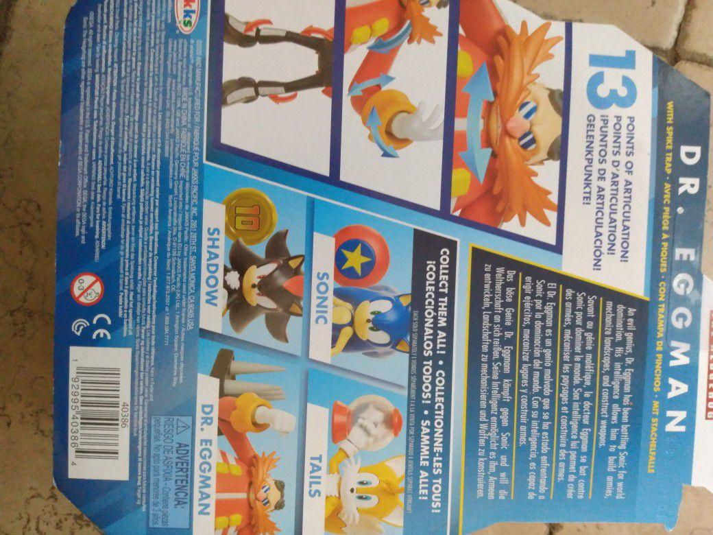 Brand New Sonic The Hedgehog Dr. Eggman Figure In PackageUnopened