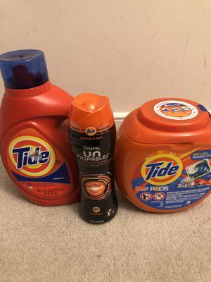 Tide detergent for Sale in Silver Spring, MD