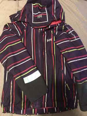 Helly Hansen ski jacket size 7\8 kids in great condition except for the reflectors on the sleeve a slightly worn for Sale in Washington, DC