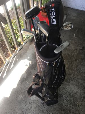 Golf bag and clubs for Sale in Los Angeles, CA