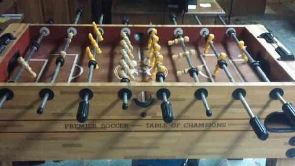 Foosball Table Premier Soccer Table Of Champions For - Premier soccer foosball table
