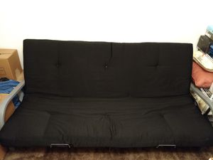 Black Silver Futon For In Durham Nc